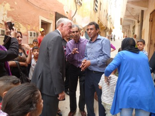 Bill Zeliff and Legislative Fellows in Morocco