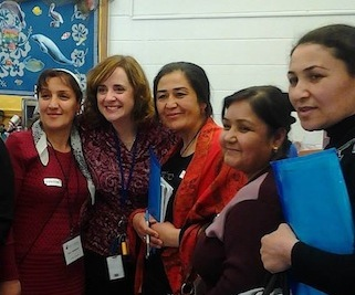 Tajikistan Educators hosted by Roanoke County Schools