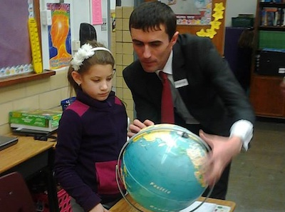 Tajik educators visit Roanoke schools